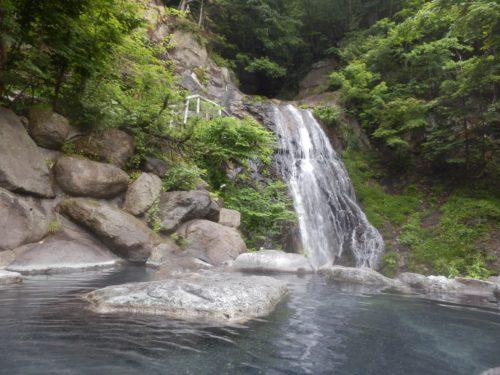 八丁の湯滝見の湯