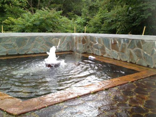 駒の湯温泉露天風呂