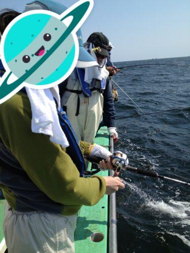 カワハギ釣り