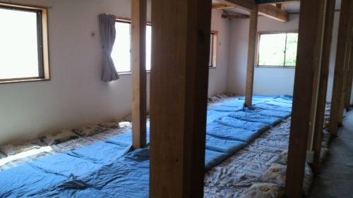 涸沢小屋ベッド