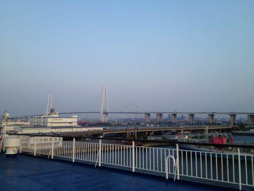 太平洋フェリーいしかり名古屋港