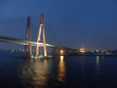 太平洋フェリーいしかり名古屋橋