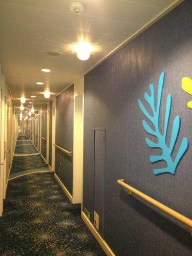 太平洋フェリーいしかり廊下