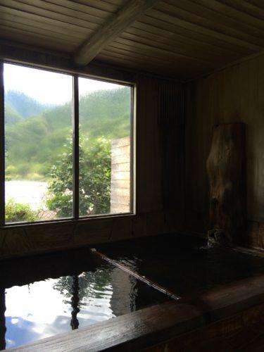 奈良田温泉白根館内湯