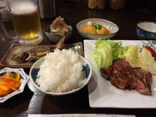 徳澤園夕食