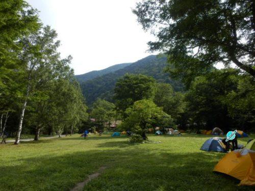 徳澤キャンプ場2
