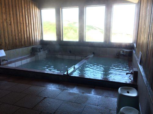 みくりが池温泉浴室