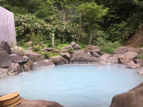 幕川温泉水戸屋旅館露天風呂