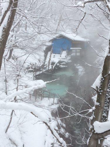 蔵王温泉スキー場大露天風呂