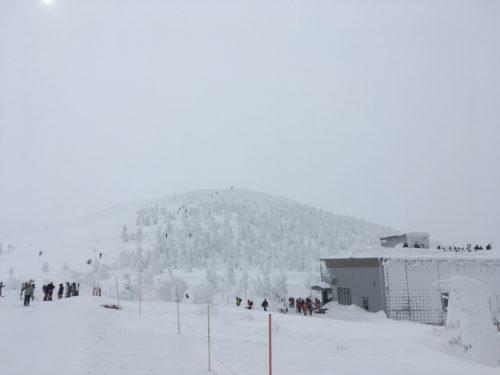 蔵王温泉スキー場地蔵山