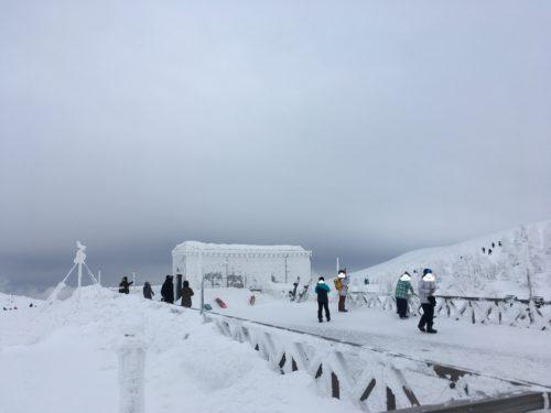 蔵王温泉スキー場山頂展望台