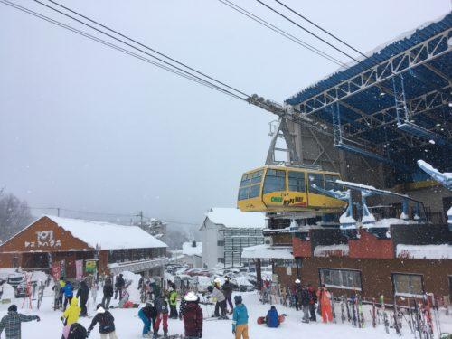 蔵王温泉スキー場中央ロープウェイ