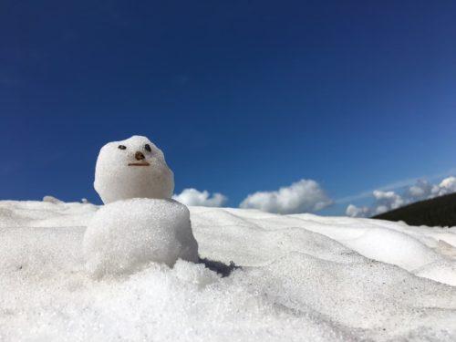 八幡平雪渓