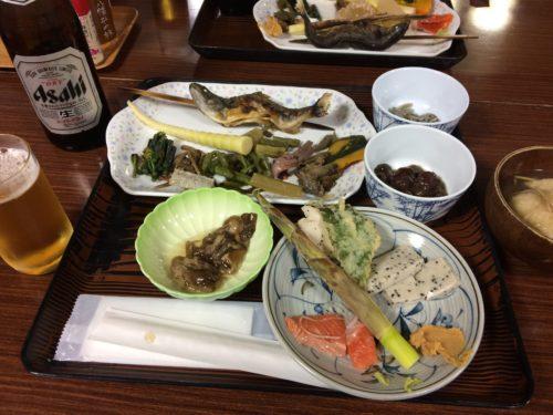 八幡平藤七温泉夕食