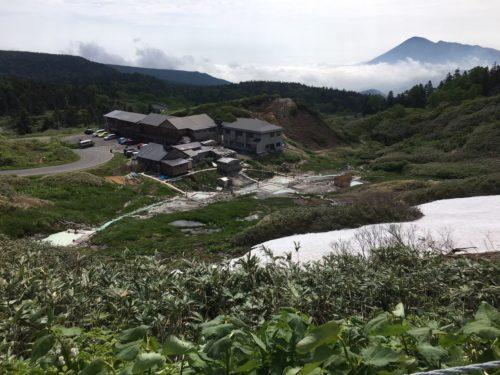 八幡平藤七温泉遠景