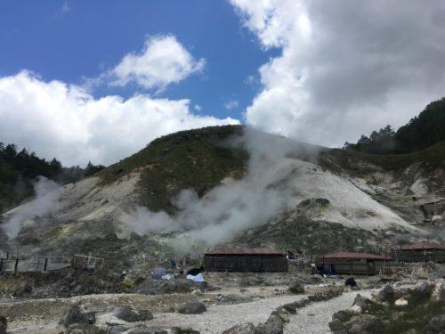 八幡平玉川温泉岩盤浴