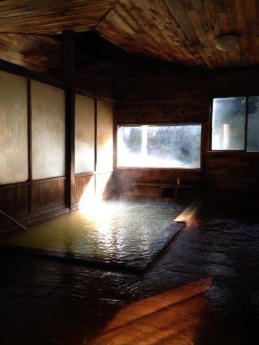 古遠部温泉浴室