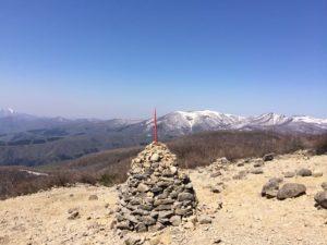 泉ヶ岳ケルン