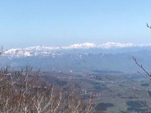 北泉ヶ岳から船形山