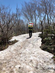 北泉ヶ岳残雪