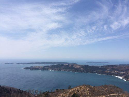 金華山の山頂からの展望