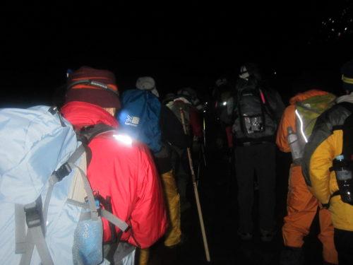 富士山夜行