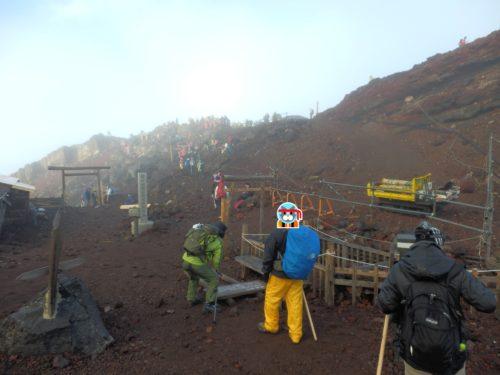 富士山頂広場