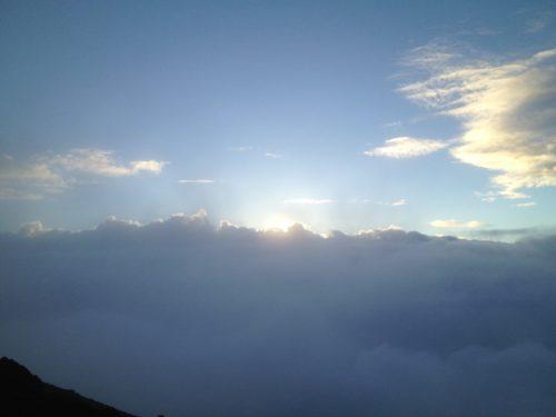 富士山山頂ご来光