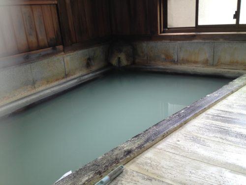 鳴子温泉姥の湯硫黄泉
