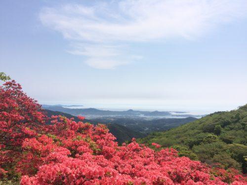 徳仙丈山(気仙沼)からの眺望