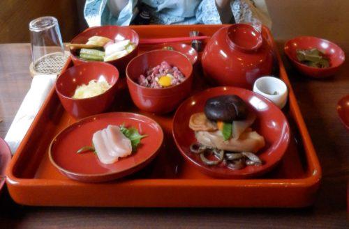 駒の湯山荘夕食
