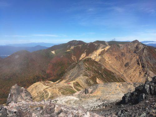 那須岳登山下り