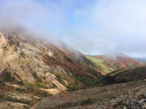 那須岳下りルート