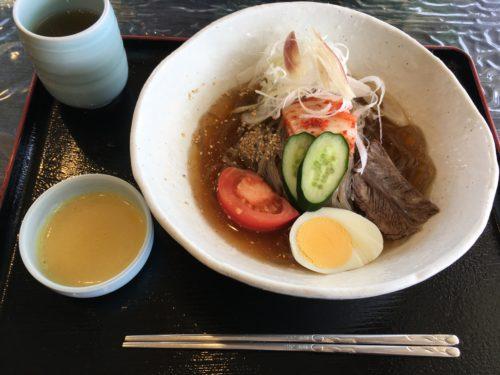 京泉の冷麺