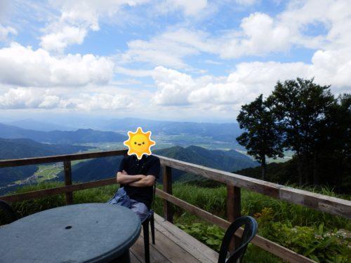 八海山ロープウェイ山頂テラス
