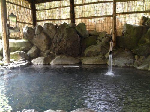 ランプの宿青荷温泉露天風呂
