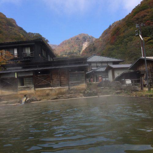 那須・北温泉泳ぎ湯