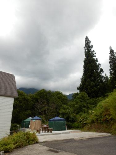 駒の湯山荘露天風呂脱衣場