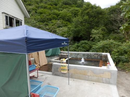 駒の湯山荘露天風呂
