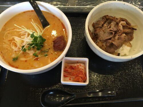担担麺プルコギ丼