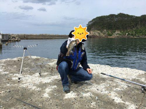 重茂漁港釣り・アイナメ