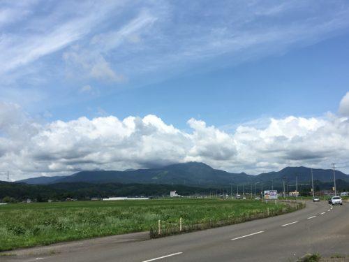 泉ヶ岳遠景
