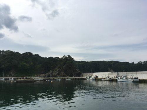 重茂漁港釣り