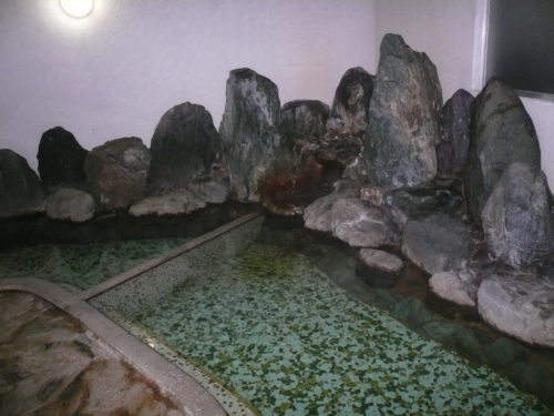 弓ヶ浜温泉湯楽亭の内湯