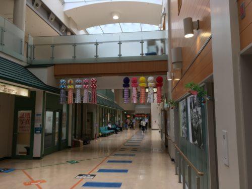 病院内の風景
