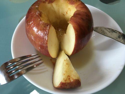 焼きリンゴ美味い