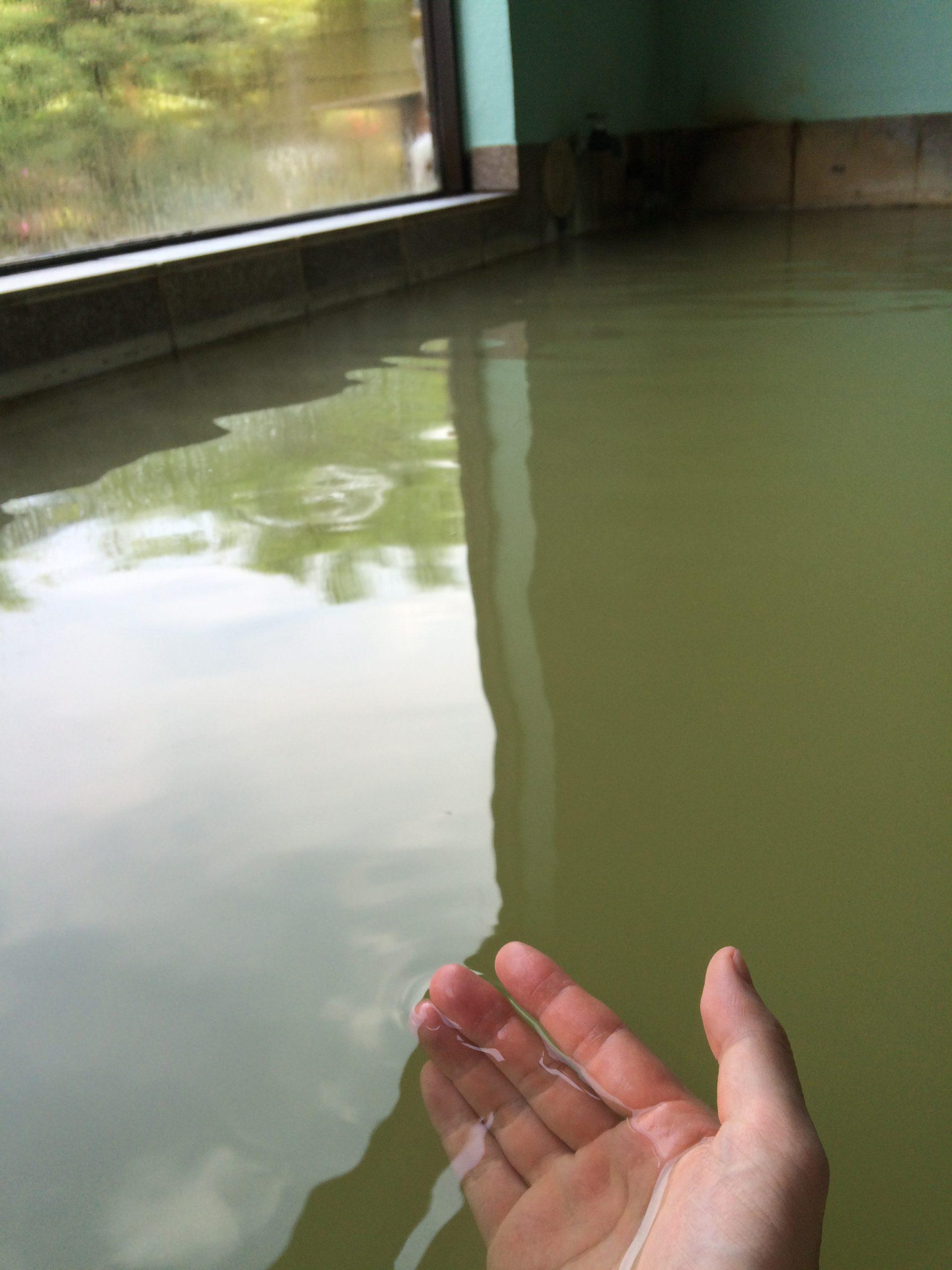 川渡温泉沼倉旅館のお湯