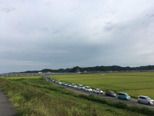 松島基地への渋滞その2