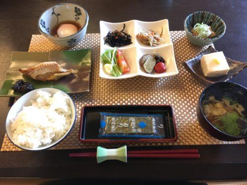 鷹の湯朝食