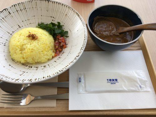 閖上港食堂HACHI・カレー